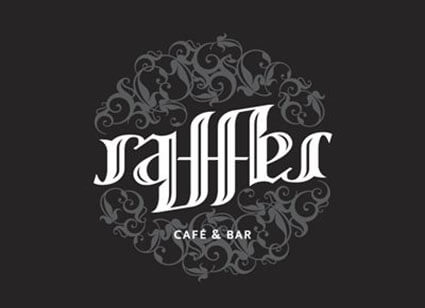Raffles Awesome Ambigram
