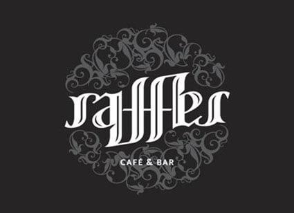 Raffles Awesome Ambigram