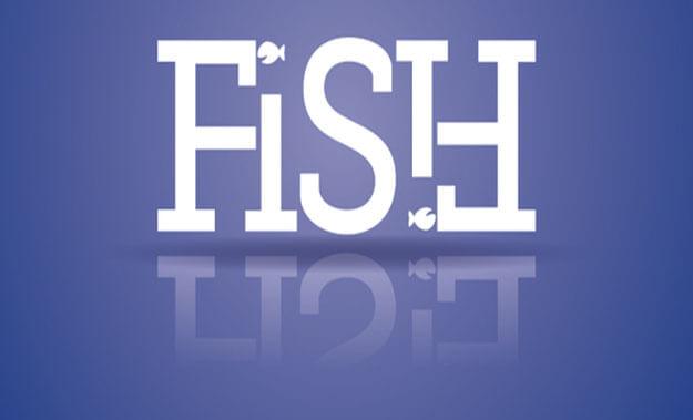 fish ambigram generator