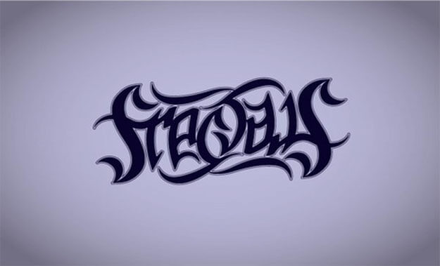 fractals Awesome Free Ambigram