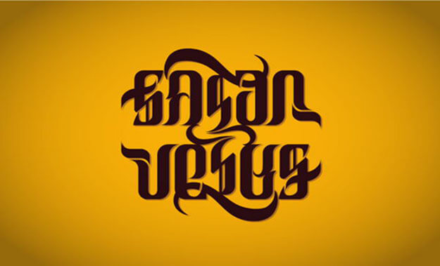 jesue Free Ambigram generator and Example