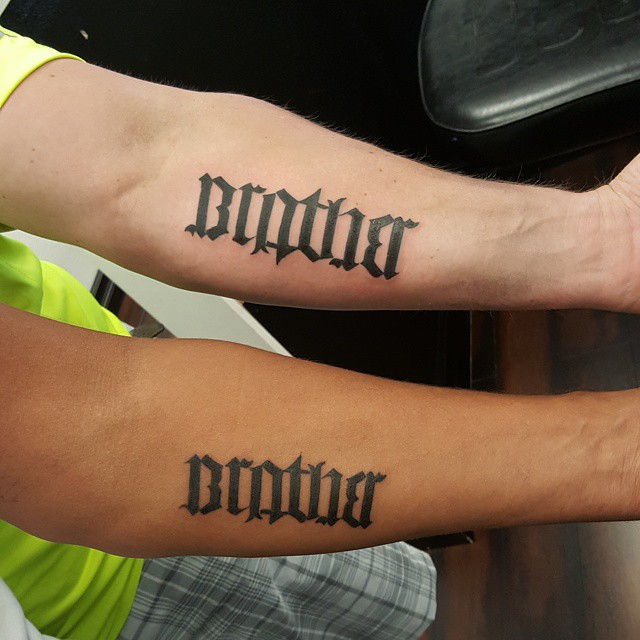 Ambigram Tattoos 6