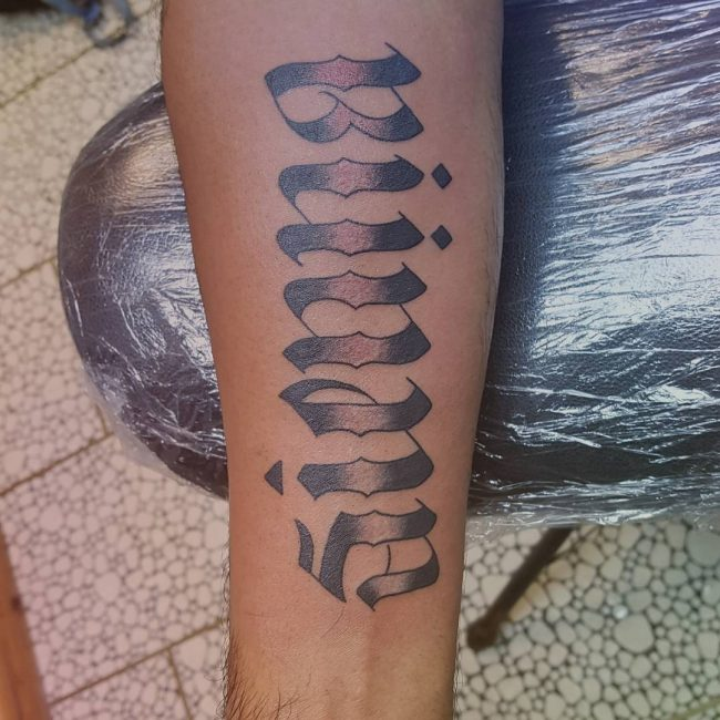 Ambigram Tattoos 8