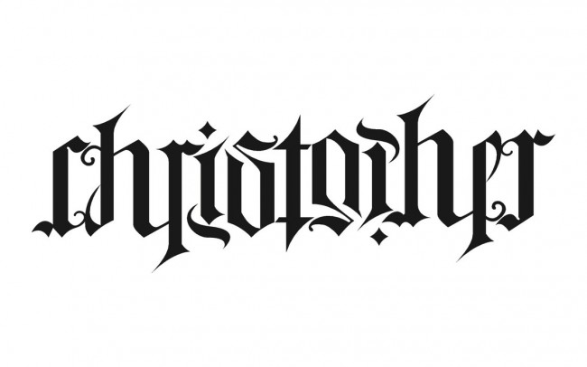 ambigram tatoos ideas 2