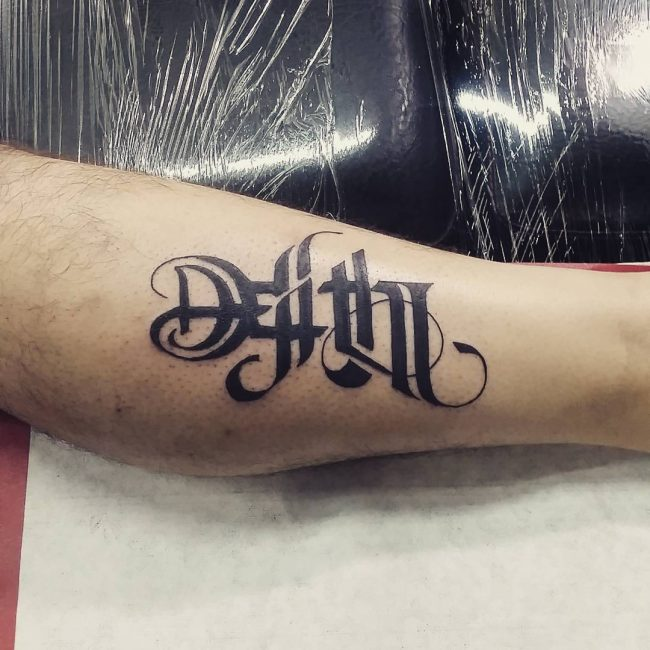 Tattoo Word Generator: 40+ Best Ambigram Tattoos Design And Ideas