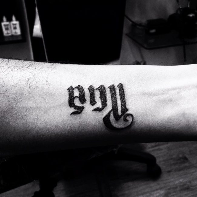 hands ambigram tatoos 5