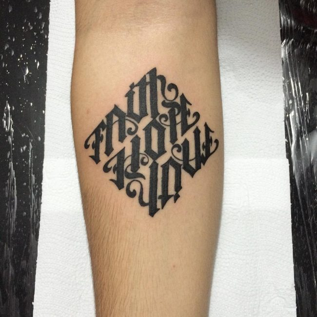 man ambigram tatoos 8