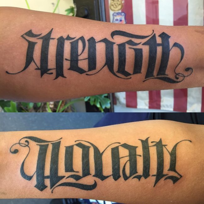 man ambigram tatoos 9