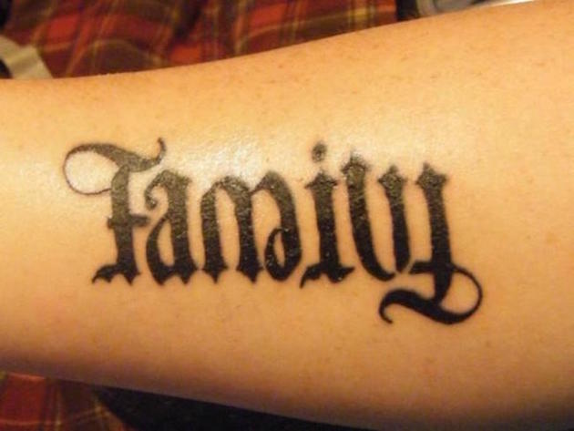 text ambigram tatoos 3